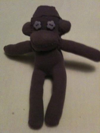 Sock Monkey - Baby