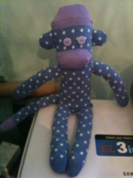 Sock Monkey - the First