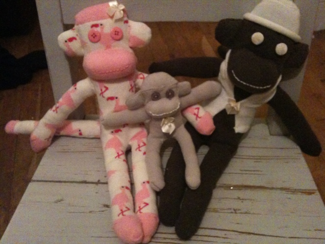 Sock Monkey - Wedding Party